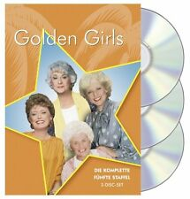 The Golden Girls - Series 5 * Beatrice Arthur * 3-Disc Region 2 (UK) DVD * New