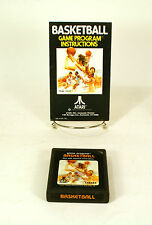Atari 2600 game Basketball  With Instructions Tested and Working