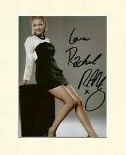 RACHEL RILEY COUNTDOWN SEXY PP 8x10 MOUNTED SIGNED AUTOGRAPH PHOTO