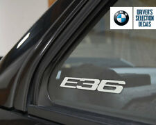 BMW E36 Logo window sticker decal Euro Style