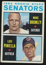 1964 Topps Baseball #167 LOU PINELLA *Rookie* (Washington Senators)