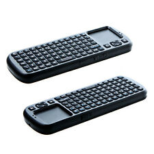 iPazzPort 2.4GHz Mini Wireless Keyboard 2.4G RF Touchpad with Smart TV PC Remote