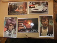 GERRY ANDERSON UFO 5 card Carlton set  2 ITC Preview Promo ED BISHOP SHADO