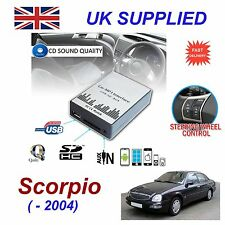 Ford SCORPIO MP3 SD USB CD AUX Input Audio Adapter Digital CD Changer Module