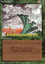 Tsunami (tsunami) Magic limited black bordered German Beta FBB Foreign tedesco L