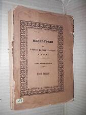 REPERTORIO DI DRITTO PATRIO TOSCANO VIGENTE Stamperia Granducale 1849 diritto di