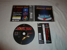 JAPAN IMPORT VIDEO GAME SONY PLAYSTATION BOXERS ROAD W CASE & MANUAL