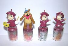 Cup Toppers Figures from Masha and the Bear (Маша и медведь)