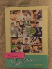 Seventeen 1st Album Love & Letter Letter Version Sticker Postcard Photobook KPOP