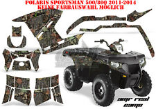 AMR Racing DECORO GRAPHIC KIT ATV POLARIS SPORTSMAN modelli AMR Real Camo B