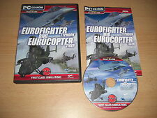 EUROFIGHTER TYPHOON AND & EUROCOPTER TIGER Pc Add-On Flight Simulator FS2004 FSX
