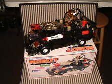 COSMIC RAIDER FORCE ROBOT ~ VINTAGE NOS BATTERY OPERATED CAR IN ORIGINAL BOX!