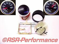 Ladedruck Anzeige 3BAR 52mm SMOKE Instrument Boost Gauge 16V S2 VR6 Turbo RS ST