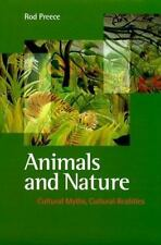 Animals and Nature: Cultural Myths, Cultural Realities-ExLibrary