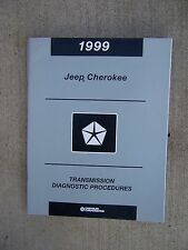 1999 Jeep Grand Cherokee 45RFE Transmission EATX Diagnostic Procedures Manual U