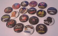 18 Dario Argento Badges Suspiria Tenebre Phenomena Inferno Trauma Deep Red Opera