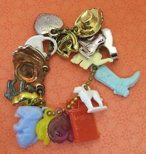 Gumball Machine Charms 17 Charm Bracelet Lighter Hat Puffy Heart Dog Cat MORE T4