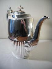 A Very Large Antique Silver Coffee Pot / Teapot / Water Jug : Sheffield 1896
