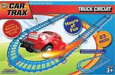 KIDS COLOURFUL 23 PCS CAR TRAX TRACK PLAY SET FLEXIBLE TOY RACE BOY XMAS GIFT
