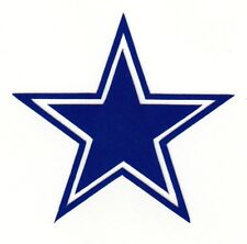 REFLECTIVE Dallas Cowboys fire helmet motorcycle hard hat decal sticker yeti