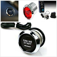 12V Red LED Car SUV Offroad Engine Start Push Button Switch Ignition Starter Kit