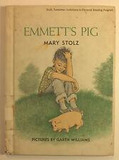 Stolz, Mary - Emmett's Pig - 1959 - HC/VG - illustrated! 1