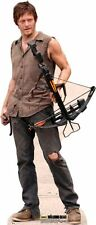Daryl Dixon PAPP FIGUR AUFSTELLER STANDUP The Walking Dead Norman Reedus bogen
