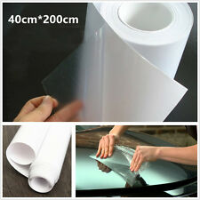 DIY 40cm*200cm Invisible Car Autos Bumper Protector Anti-Scratch Vinyl Film Wrap