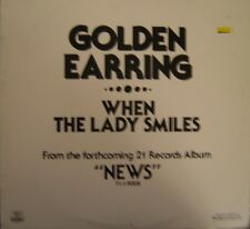 Golden Earring When the Lady Smiles 2 mixes - US 12""
