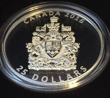1 oz. Fine Silver Piedfort – The Coat of Arms of Canada – Mintage: 6,000 (2016)