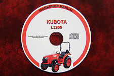 KUBOTA L3200 TRATTORE Workshop Service Repair Manual