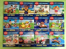 Paw Patrol Phonics Lot 12 Childrens Kids Step Reading Books Early Readers NEW