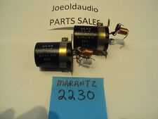 Marantz 2230 63 Volt 2200 UF Channel Filter Capacitors. 1 pair. Tested