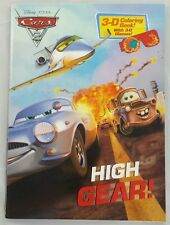 Disney Cars 3D Coloring Book & 3D Glasses Disney Pixar Cars 3-D Coloring Book