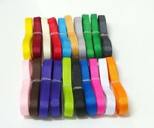 20pcs of 6mm Plain Grosgrain Ribbon for Scrapbooking and Embellishment SB0164