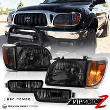 Smoke Tinted 2001-2004 Toyota Tacoma Headlight Corner Light Assembly Left Right