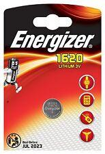 Energizer CR1620 Pile Lithium 3V  LOT DE 2