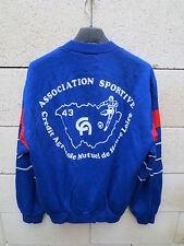 VINTAGE Sweat ADIDAS Association Sportive Crédit Agricole HAUTE-LOIRE football