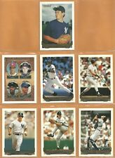 1993 Topps Gold Insert New York Yankees Team Lot 13 Bernie Williams Brien Taylor