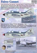 Print Scale Decals 1/48 FAIREY GANNET British Anti-Sub Patrol Aircraft