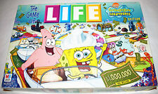 The Game Of Life Spongebob Squarepants Edition Milton Bradley 2005