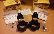 PAIR OF WILLIAMS SIGHT-THRU SCOPE MOUNTS FOR BROWNING, MOSSBERG 800, REMINGTON