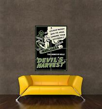 POSTER PRINT MOVIE FILM ADVERT DRUG DRAMA DEVIL'S HARVEST MARIJUANA WEED SEB060