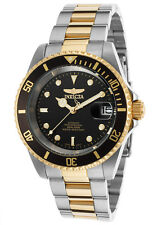 INVICTA MENS PRO DIVER 24 JEWEL AUTOMATIC TWO TONE COIN BEZEL WATCH 8927C