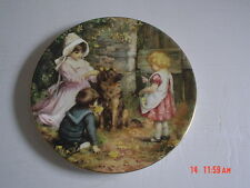 Wedgwood Collectors Plate YESTERDAYS CHILD - SPRING DECORATIONS