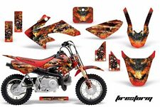 AMR Racing Honda Graphic Kit Bike Decal CRF 50 Decal MX Parts 2004-2013 FIRESTRM