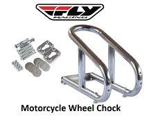Motorcycle Wheel Chock 3 1/2 inch Trailer Enclosed Dragbike ToyHauler Removeable