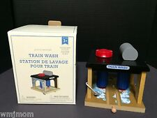 Pottery Barn Kids Wooden TRAIN WASH Station Lional Polar Christmas Easter Toy NW