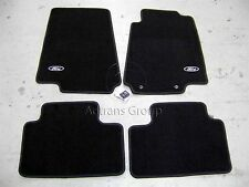 GENUINE FORD OEM BA BF + MK2 MK3 FALCON BLACK TAILORED CARPET FLOOR MATS SET MAT