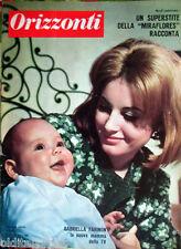 1963/10 ORIZZONTI-Gabriella Farinon-Antonio Zara Miraflores-Carla Ragni-Kruscev